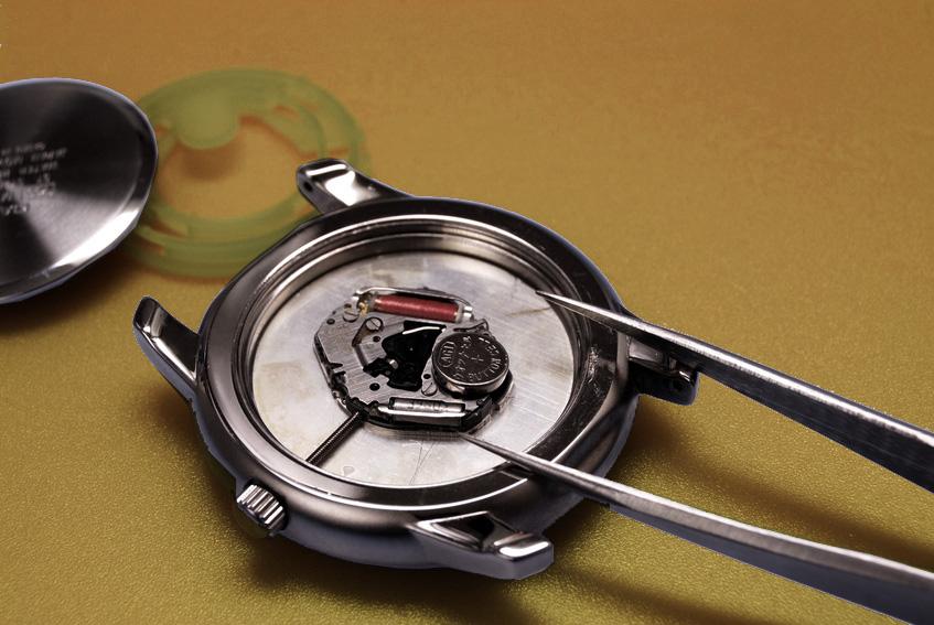 remplacement pile montre