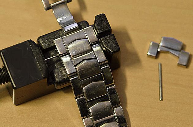 changement bracelet montre